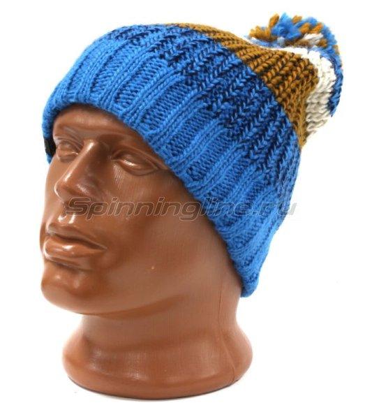 Шапка Buff Knitted&Polar Hat Stig Teal Blue -  1
