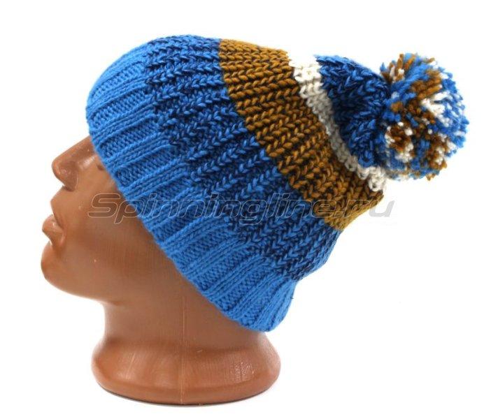 Шапка Buff Knitted&Polar Hat Stig Teal Blue -  2