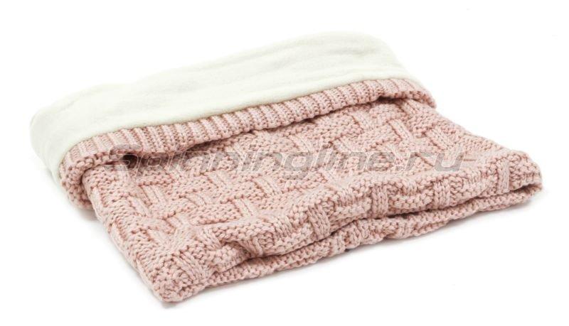 Шарф Buff Knitted&Polar Neckwarmer Airon Blossom Pink -  2