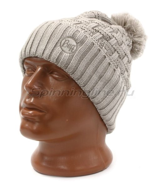 Шапка Buff Knitted&Polar Hat Airon Mineral Grey -  1