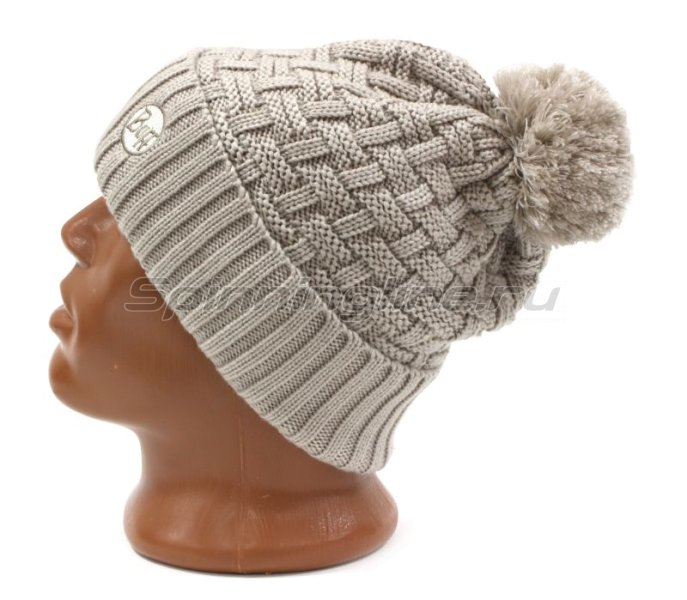 Шапка Buff Knitted&Polar Hat Airon Mineral Grey -  2