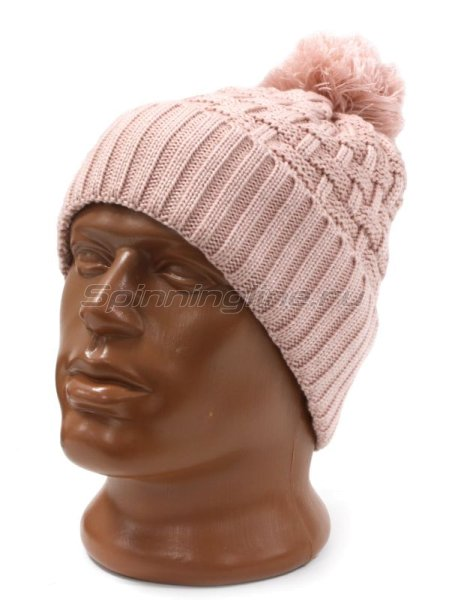 Шапка Buff Knitted&Polar Hat Airon Blossom Pink -  1