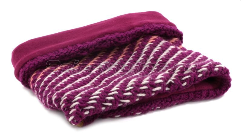 Шарф Buff Knitted&Polar Neckwarmer Nella Purple Raspberry -  2