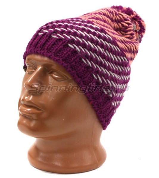 Шапка Buff Knitted&Polar Hat Nella Purple Raspebrry -  1