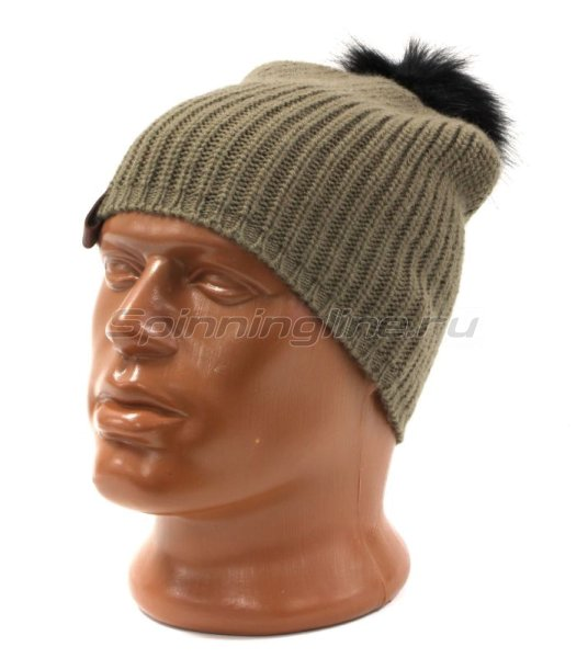 Шапка Buff Knitted Hat Adalwolf Brown Taupe -  1
