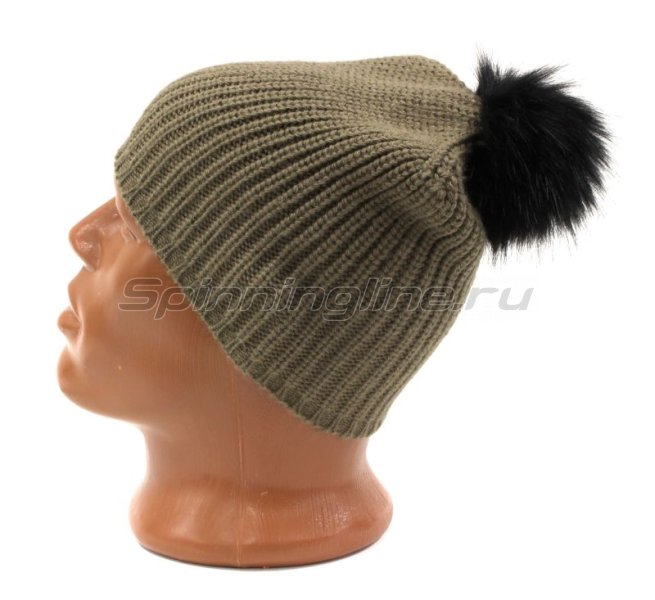 Шапка Buff Knitted Hat Adalwolf Brown Taupe -  2