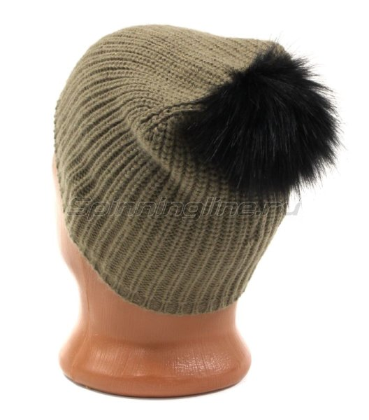 Шапка Buff Knitted Hat Adalwolf Brown Taupe -  3