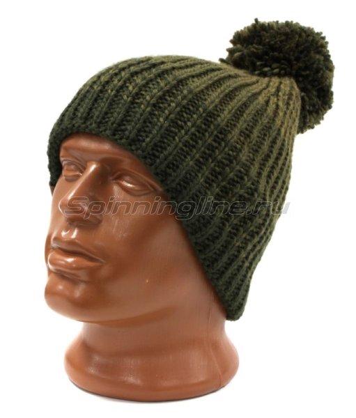 Шапка Buff Knitted&Polar Hat Borae Khaki -  1
