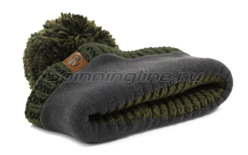 Шапка Buff Knitted&Polar Hat Borae Khaki -  4
