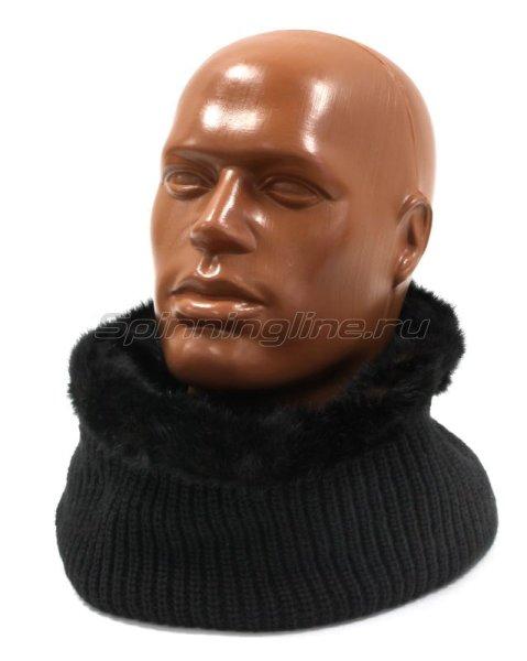 Шарф Buff Knitted Collar Adalwolf Black -  1