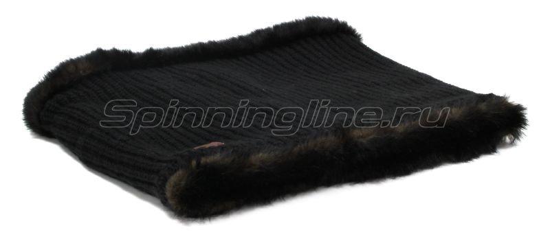 Шарф Buff Knitted Collar Adalwolf Black -  2