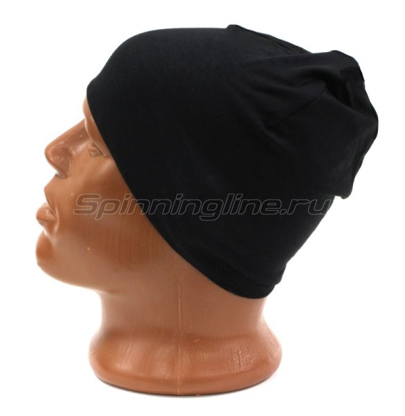 Шапка Buff Microfiber Reversible Hat R-Solid Black -  4