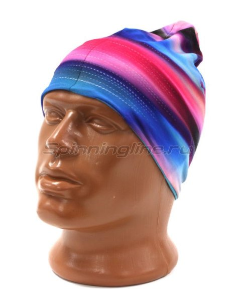 Шапка Buff Microfiber Reversible Hat R-Luminance Multi-Scuba Blue -  1