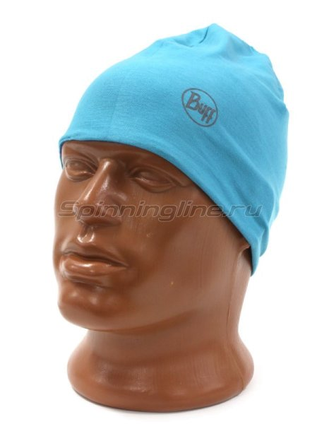 Шапка Buff Microfiber Reversible Hat R-Luminance Multi-Scuba Blue -  3
