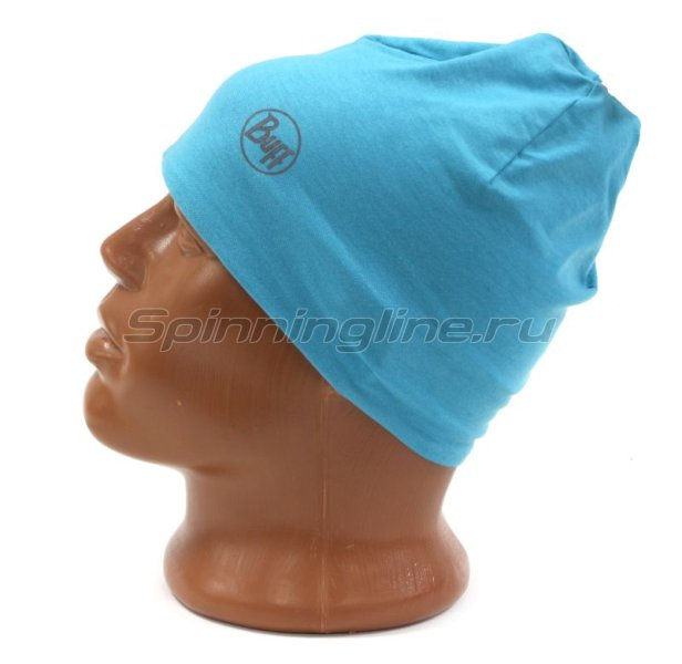 Шапка Buff Microfiber Reversible Hat R-Luminance Multi-Scuba Blue -  4