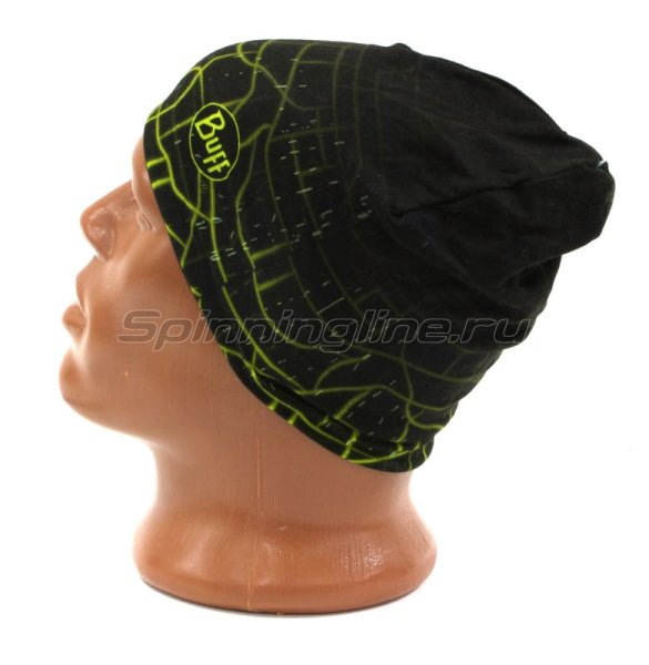Шапка Buff Microfiber Reversible Hat R-Extent Black -  2