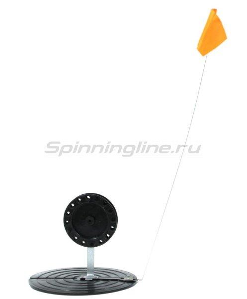 Жерлица Три Кита с черной катушкой d85-90мм -  2