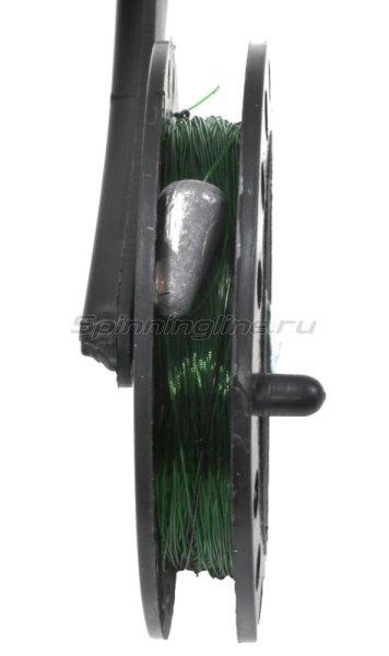 Набор жерлиц Три Кита с угловой стойкой в сумке с цветными катушками d85-90мм -  5