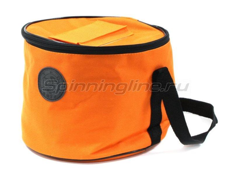 Набор жерлиц Три Кита с угловой стойкой в сумке с цветными катушками d85-90мм -  6
