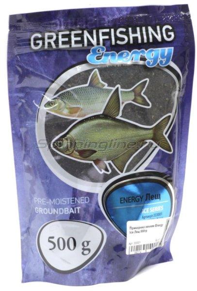 Прикормка зимняя Greenfishing Energy Ice Лещ 500гр -  1