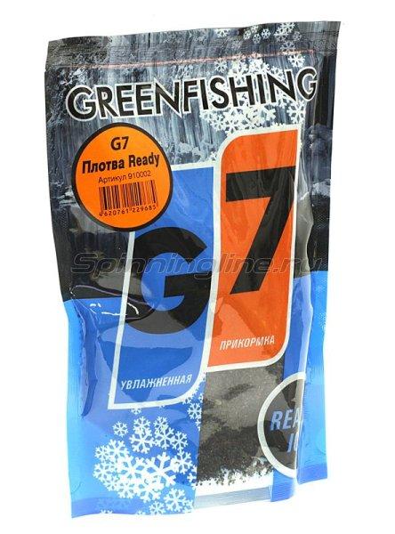 Прикормка зимняя Greenfishing G-7 Ice Плотва Ready 350гр -  1