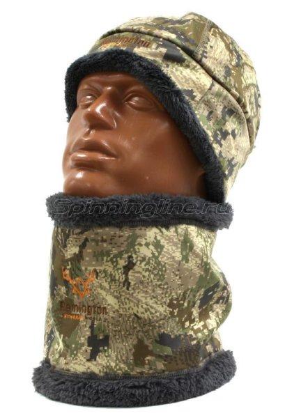Шапка флисовая со снудом Remington Tactical Soft S/M -  1
