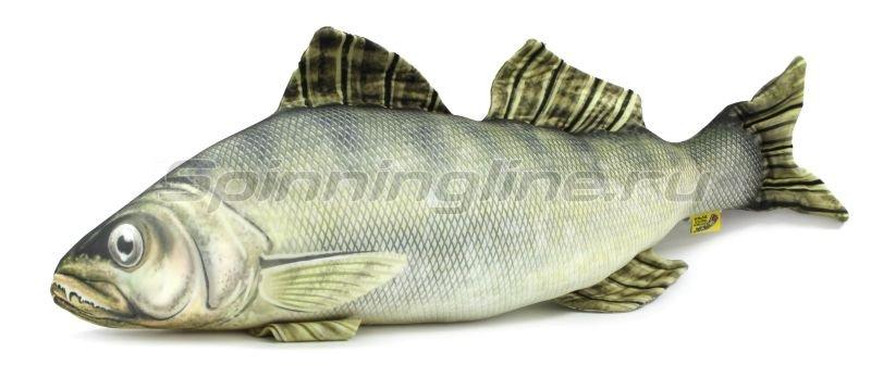 """Антистрессовая игрушка Рыба """"Судак"""" маленький -  1"""