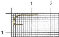 Крючок Gurza E-Plain Shank №10 Bz