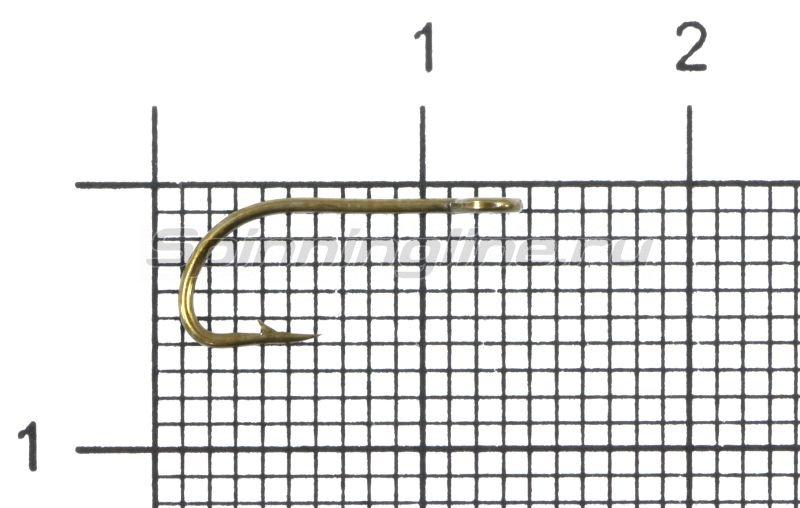 Крючок Gurza E-Plain Shank №10 Bz -  1