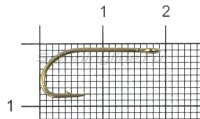 Крючок Gurza E-Plain Shank №6 Bz