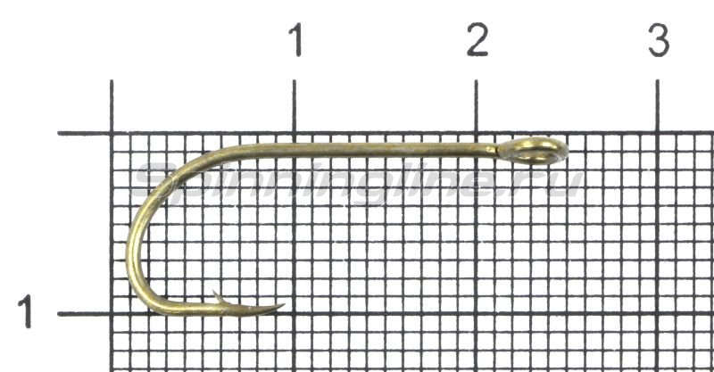 Крючок Gurza E-Plain Shank №4 Bz -  1