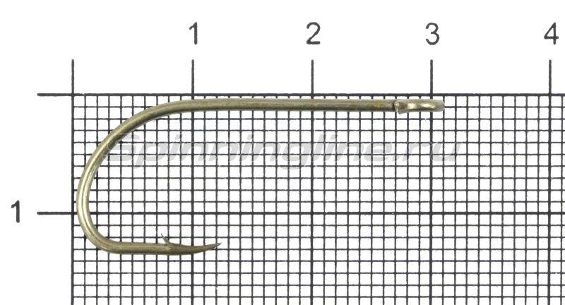 Крючок Gurza E-Plain Shank №1 Bz -  1