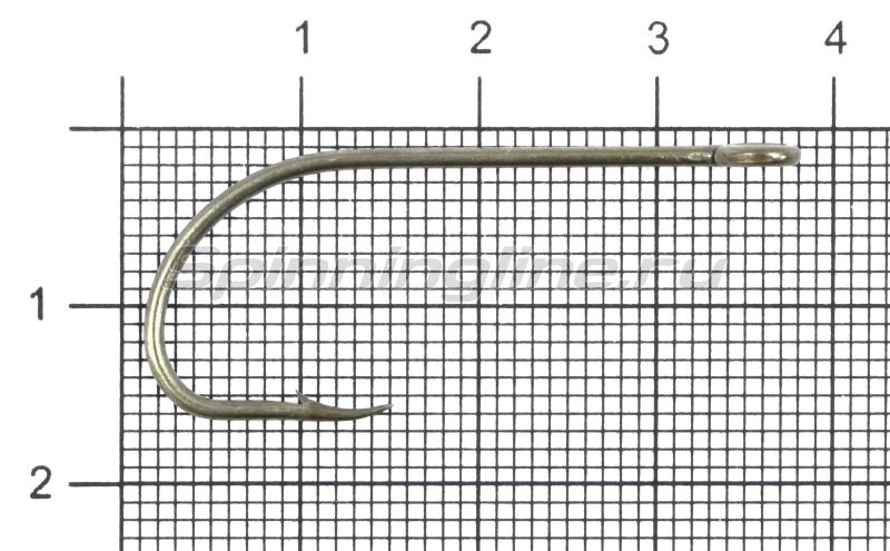 Крючок Gurza E-Plain Shank №2/0 Bz -  1
