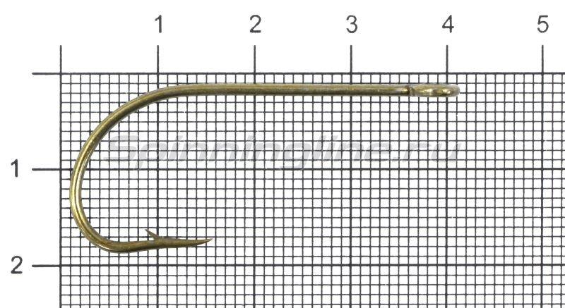 Крючок Gurza E-Plain Shank №3/0 Bz -  1