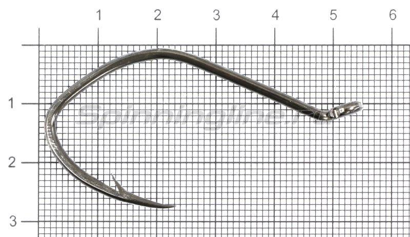 Крючок Gurza Cat Fish Ring BN №4/0 -  1
