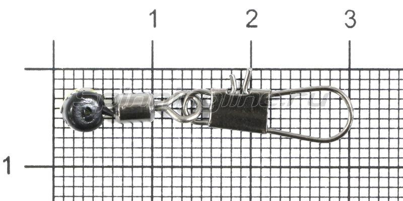 Вертлюг с карабином Gurza Interlock Match Snap №1 -  1