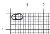 Кольцо заводное Gurza Egg Split Rings №2