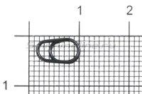 Кольцо заводное Gurza Egg Split Rings №3