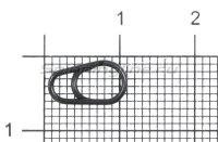 Кольцо заводное Gurza Egg Split Rings №4