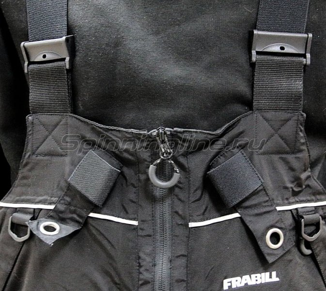 Полукомбинезон Frabill I-2 Bib L Black -  3