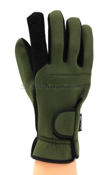 Перчатки Helios неопреновые HS-HY-D14 XL хаки -  1