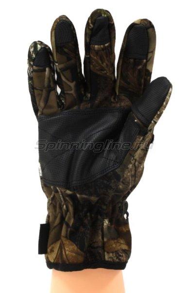 Перчатки Helios на липучке HS-HY-D08 XL камуфляж -  2