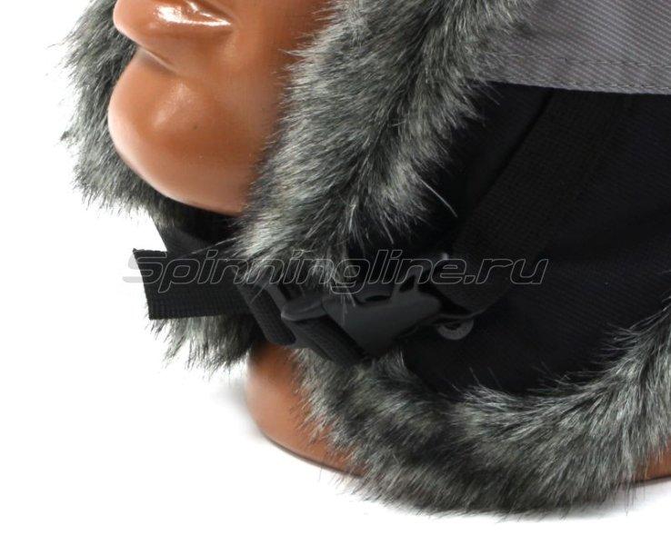Шапка-ушанка Helios Skif XL черный/серый -  8