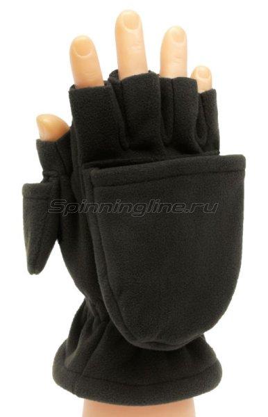Перчатки-варежки Sprut Thermal WS Gloves-Mittens L Black -  1