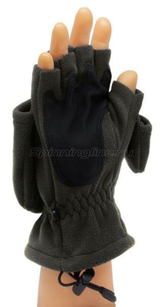 Перчатки-варежки Sprut Thermal WS Gloves-Mittens L Black -  2