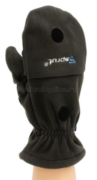 Перчатки-варежки Sprut Thermal WS Gloves-Mittens L Black -  3
