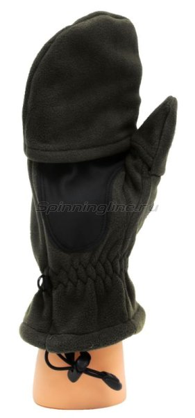 Перчатки-варежки Sprut Thermal WS Gloves-Mittens L Black -  4