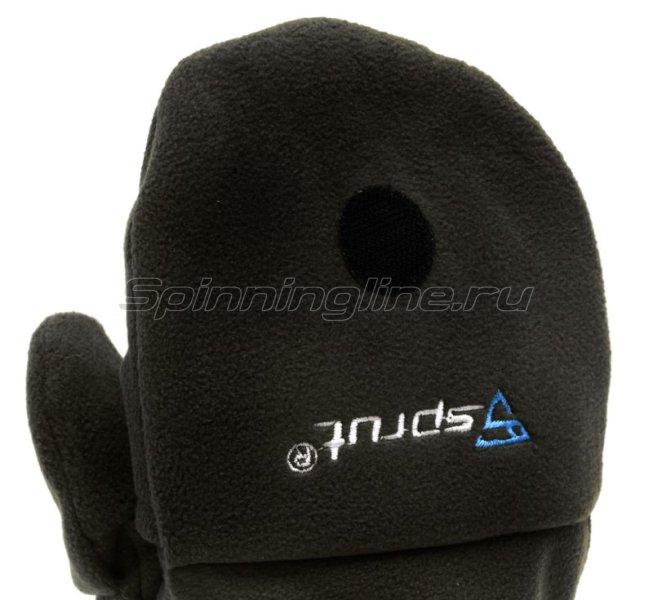 Перчатки-варежки Sprut Thermal WS Gloves-Mittens L Black -  6