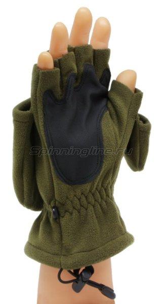 Перчатки-варежки Sprut Thermal WS Gloves-Mittens L хаки -  2