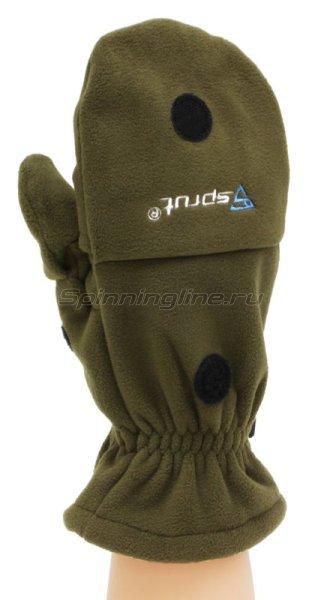 Перчатки-варежки Sprut Thermal WS Gloves-Mittens L хаки -  3